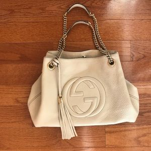 Gucci Leather Soho Tote